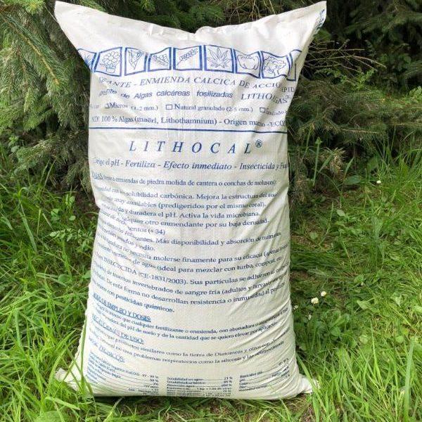 Saco definitivo y acabado de Lithocal (REVERSO)